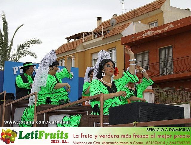 Desfile de Carnaval. Totana 2014 - 15