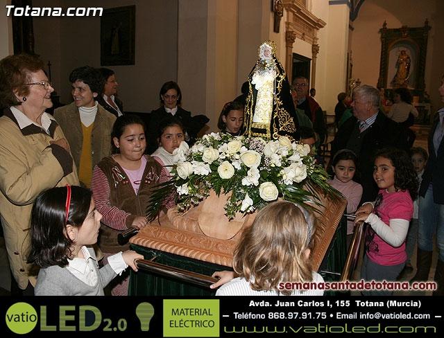 La Hermandad de Nuestra Se�ora de los Dolores estrena carroza infantil - 36