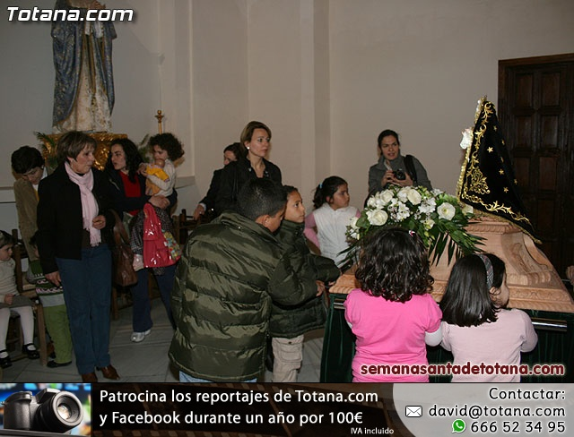 La Hermandad de Nuestra Se�ora de los Dolores estrena carroza infantil - 40