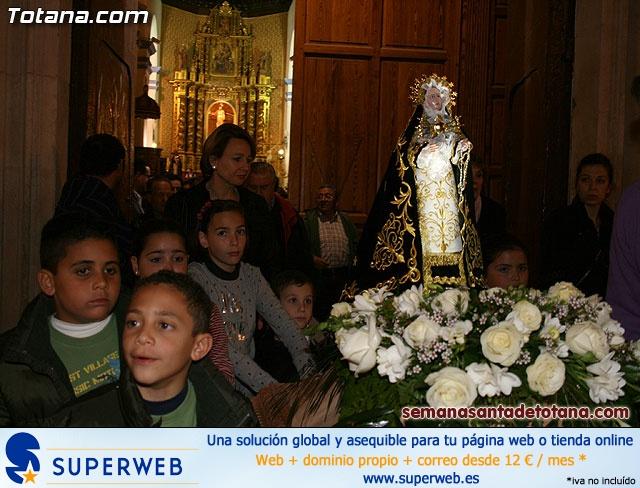 La Hermandad de Nuestra Se�ora de los Dolores estrena carroza infantil - 42