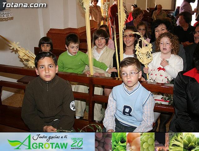 Domingo de Ramos. Parroquia de las Tres Avemar�as. Semana Santa 2009 - 12