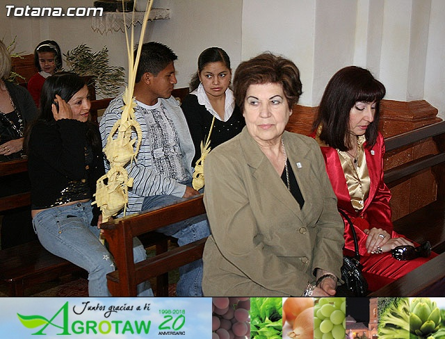 Domingo de Ramos. Parroquia de las Tres Avemar�as. Semana Santa 2009 - 20