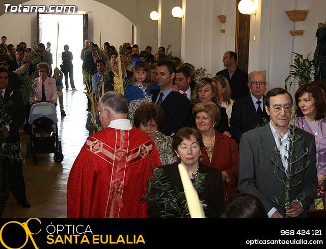 Domingo de Ramos. Parroquia de las Tres Avemar�as. Semana Santa 2009 - 41