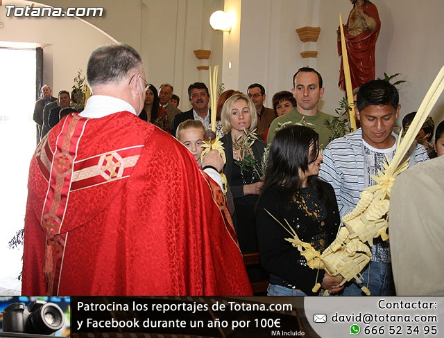 Domingo de Ramos. Parroquia de las Tres Avemar�as. Semana Santa 2009 - 46