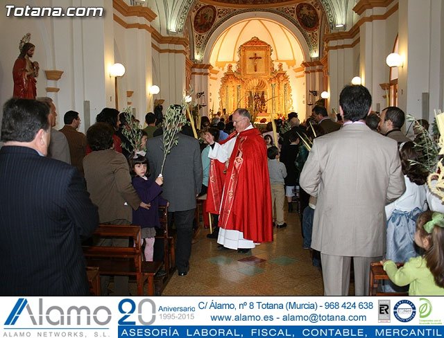 Domingo de Ramos. Parroquia de las Tres Avemar�as. Semana Santa 2009 - 48