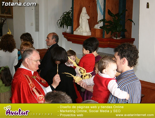 Domingo de Ramos. Parroquia de las Tres Avemar�as. Semana Santa 2009 - 50