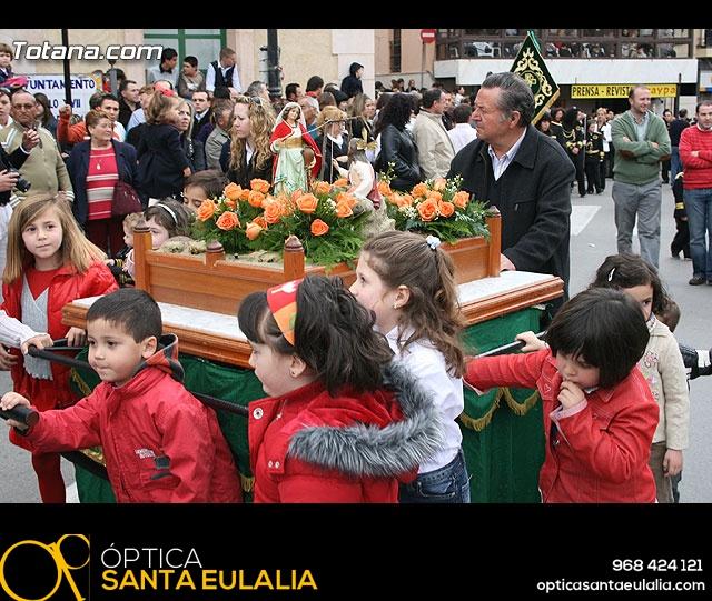 JUEVES SANTO - TRASLADO DE LOS TRONOS A LA PARROQUIA DE SANTIAGO - 306