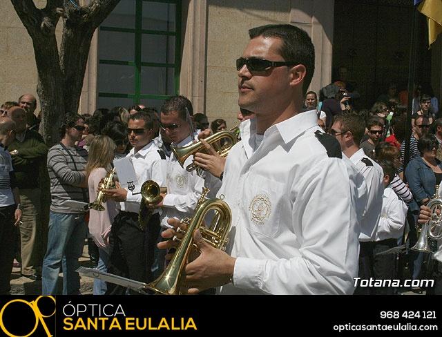 JUEVES SANTO - TRASLADO DE LOS TRONOS A LA PARROQUIA DE SANTIAGO  - 2009 - 761