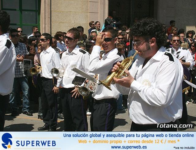 JUEVES SANTO - TRASLADO DE LOS TRONOS A LA PARROQUIA DE SANTIAGO  - 2009 - 762