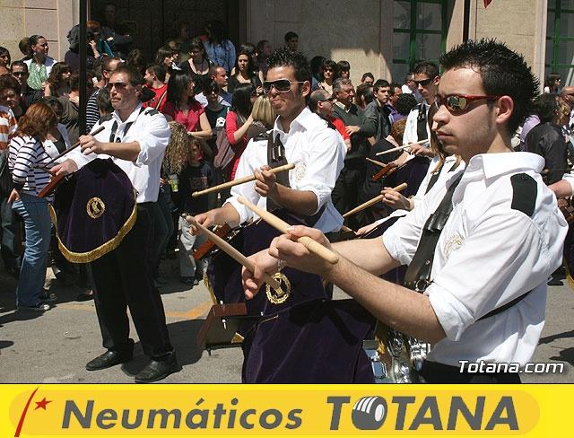 JUEVES SANTO - TRASLADO DE LOS TRONOS A LA PARROQUIA DE SANTIAGO  - 2009 - 764