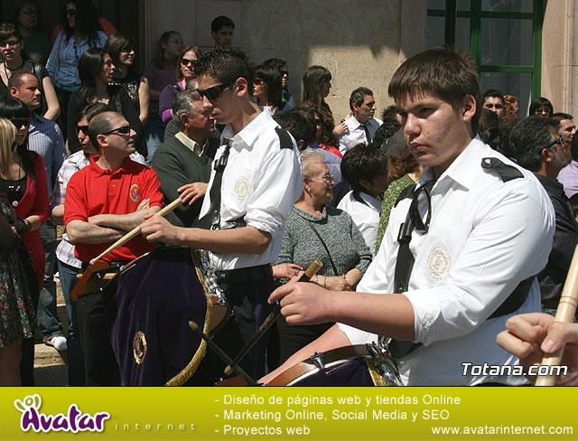 JUEVES SANTO - TRASLADO DE LOS TRONOS A LA PARROQUIA DE SANTIAGO  - 2009 - 766