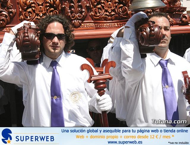 JUEVES SANTO - TRASLADO DE LOS TRONOS A LA PARROQUIA DE SANTIAGO  - 2009 - 771