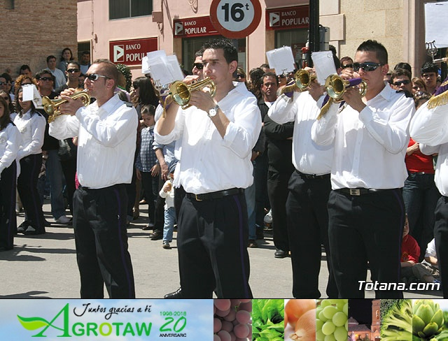 JUEVES SANTO - TRASLADO DE LOS TRONOS A LA PARROQUIA DE SANTIAGO  - 2009 - 777