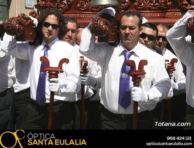 JUEVES SANTO - TRASLADO DE LOS TRONOS A LA PARROQUIA DE SANTIAGO  - 2009 - 779