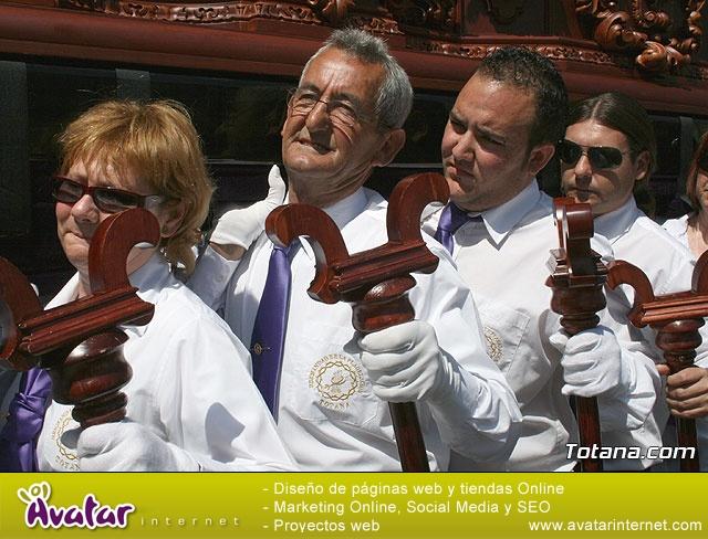 JUEVES SANTO - TRASLADO DE LOS TRONOS A LA PARROQUIA DE SANTIAGO  - 2009 - 784