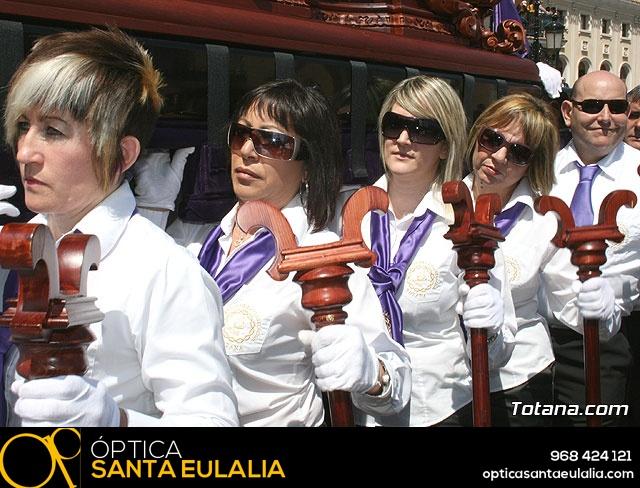 JUEVES SANTO - TRASLADO DE LOS TRONOS A LA PARROQUIA DE SANTIAGO  - 2009 - 787