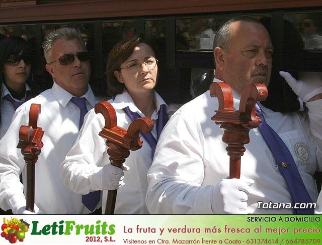 JUEVES SANTO - TRASLADO DE LOS TRONOS A LA PARROQUIA DE SANTIAGO  - 2009 - 794