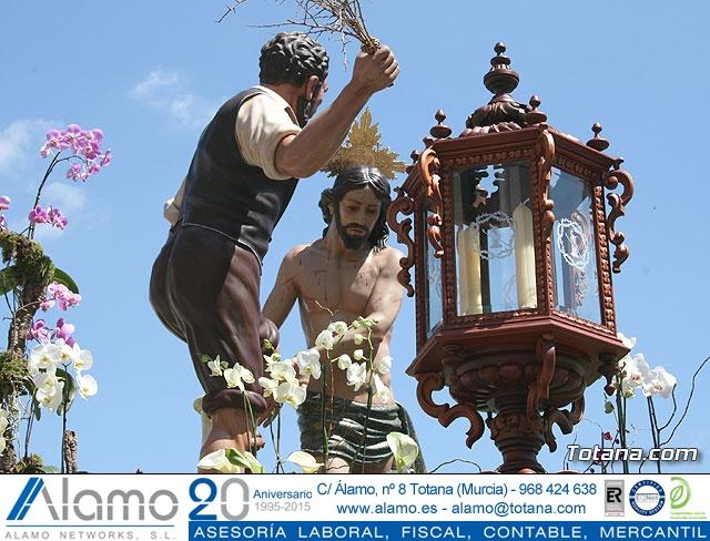 JUEVES SANTO - TRASLADO DE LOS TRONOS A LA PARROQUIA DE SANTIAGO  - 2009 - 797