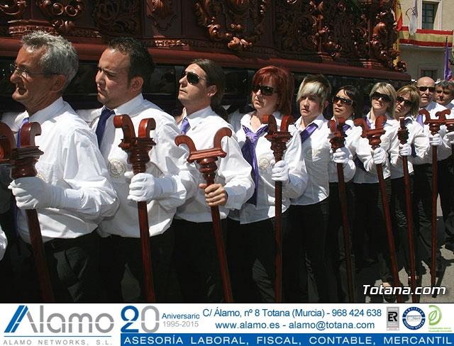 JUEVES SANTO - TRASLADO DE LOS TRONOS A LA PARROQUIA DE SANTIAGO  - 2009 - 800