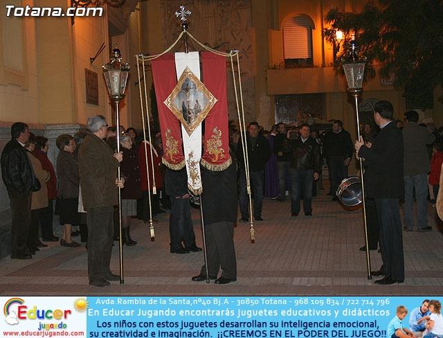 V�A CRUCIS ORGANIZADO POR LA HERMANDAD DE JES�S EN EL CALVARIO Y SANTA CENA . 2009 - 2