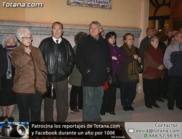 V�A CRUCIS ORGANIZADO POR LA HERMANDAD DE JES�S EN EL CALVARIO Y SANTA CENA . 2009 - 10