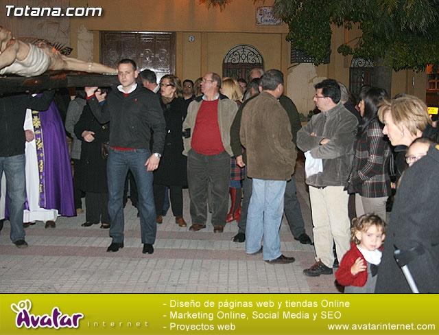 V�A CRUCIS ORGANIZADO POR LA HERMANDAD DE JES�S EN EL CALVARIO Y SANTA CENA . 2009 - 13