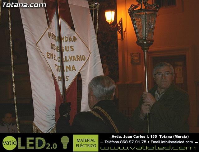 V�A CRUCIS ORGANIZADO POR LA HERMANDAD DE JES�S EN EL CALVARIO Y SANTA CENA . 2009 - 18