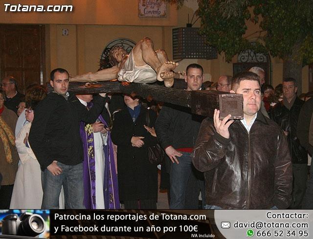 V�A CRUCIS ORGANIZADO POR LA HERMANDAD DE JES�S EN EL CALVARIO Y SANTA CENA . 2009 - 22