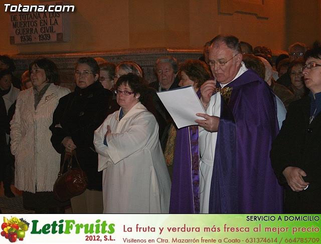 V�A CRUCIS ORGANIZADO POR LA HERMANDAD DE JES�S EN EL CALVARIO Y SANTA CENA . 2009 - 27