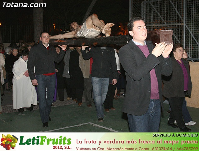 V�A CRUCIS ORGANIZADO POR LA HERMANDAD DE JES�S EN EL CALVARIO Y SANTA CENA . 2009 - 73