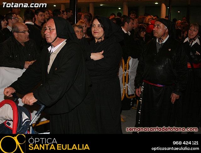 Procesión del Santo Entierro - Viernes Santo 2010 - Reportaje II (Recogida) - 24