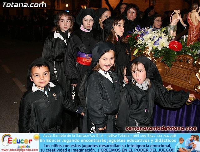 Procesión del Santo Entierro - Viernes Santo 2010 - Reportaje II (Recogida) - 25