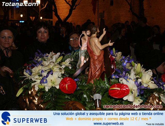Procesión del Santo Entierro - Viernes Santo 2010 - Reportaje II (Recogida) - 26