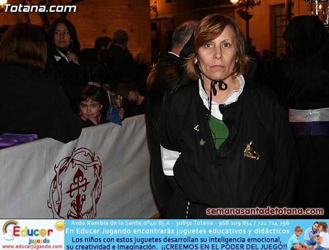 Procesión del Santo Entierro - Viernes Santo 2010 - Reportaje II (Recogida) - 33