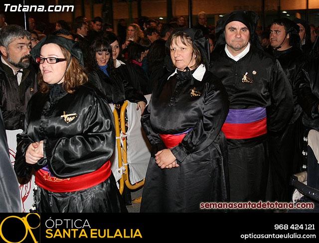 Procesión del Santo Entierro - Viernes Santo 2010 - Reportaje II (Recogida) - 37