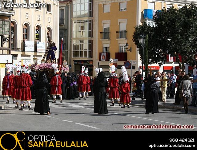 Procesión Viernes Santo mañana 2010 - Reportaje I (Salida y recogida I) - 226