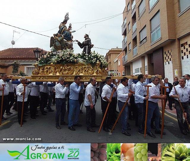 ROMERÍA FIESTAS DE LA CRUZ  SANGONERA LA VERDE 2016 - 4