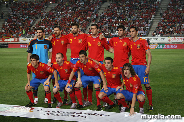 España - Polonia (6-0). Nueva Condomina - 313
